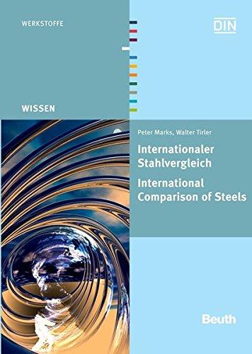 Internationaler Stahlvergleich. International Comparison of Steels: Peter Marks