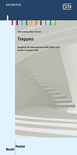 9783410221142: Treppen: Vergleich der überarbeiteten DIN 18065:2011 mit der Ausgabe 2000