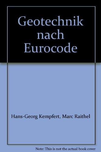 9783410224075: Geotechnik nach Eurocode: Paket: Band 1: Bodenmechanik + Band 2: Grundbau Bauwerk-Basis-Bibliothek