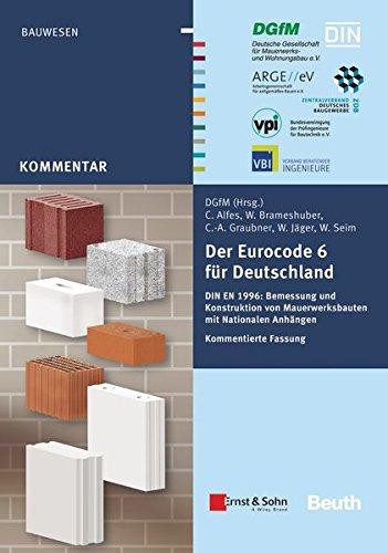 Der Eurocode 6 für Deutschland: Christoph Alfes