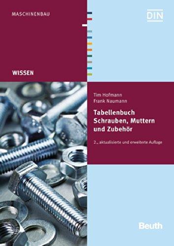 9783410231615: Tabellenbuch Schrauben, Muttern und Zubehör