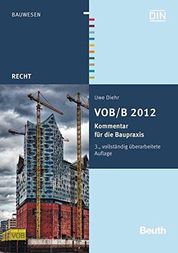 9783410232971: VOB/B 2012: Kommentar für die Baupraxis