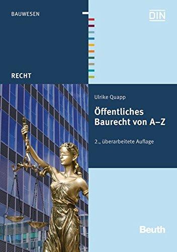 Öffentliches Baurecht von A - Z: Ulrike Quapp