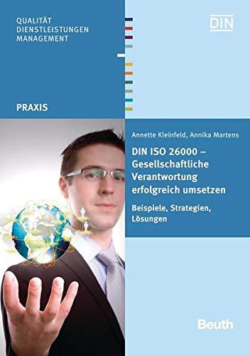 DIN ISO 26000 - Gesellschaftliche Verantwortung erfolgreich