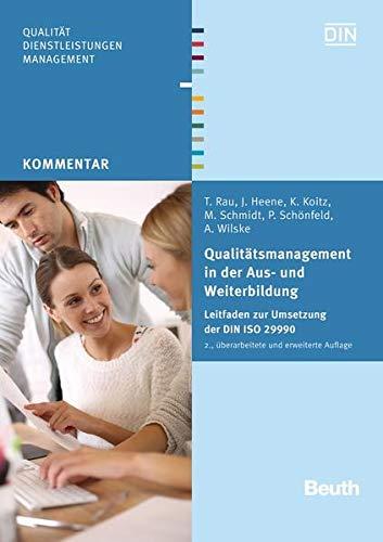 Qualitätsmanagement in der Aus- und Weiterbildung