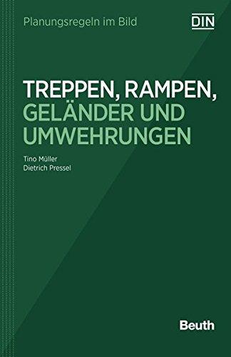 9783410243281: Planungsregeln im Bild - Treppen, Rampen, Geländer und Umwehrungen