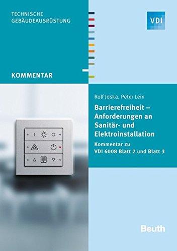 9783410247272: Barrierefreiheit - Anforderungen an Sanitär- und Elektroinstallation