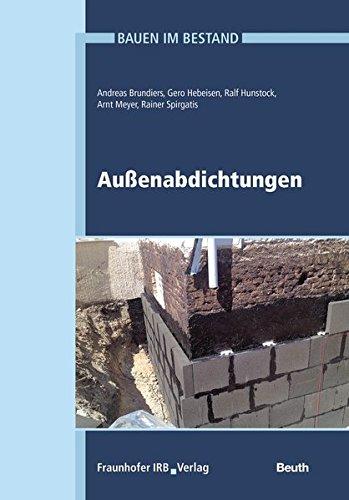 9783410248972: Bauen im Bestand - Außenabdichtungen: Außenabdichtungen