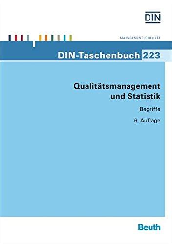 Qualitätsmanagement und Statistik: Deutsches Institut für