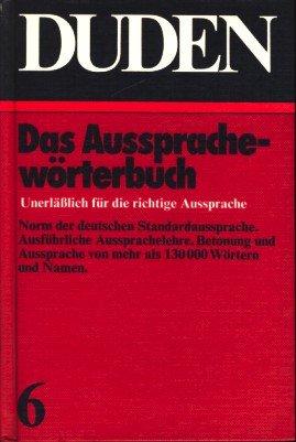 AUSSPRACHEW.BUCH/DUDEN V.06, BIBL.INST. ISBN PREFIX 3 (Duden