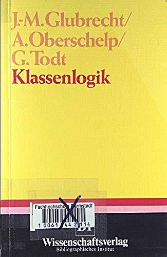 9783411016341: Klassenlogik (German Edition)