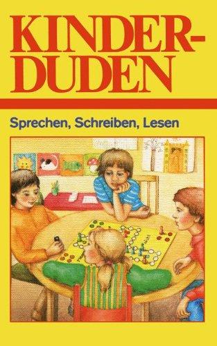 9783411019199: Kinderduden: Sprechen, Schreiben, Lesen