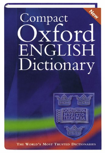 9783411021413: Compact Oxford English Dictionary