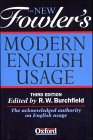 9783411022540: The New Fowler's Modern English Usage