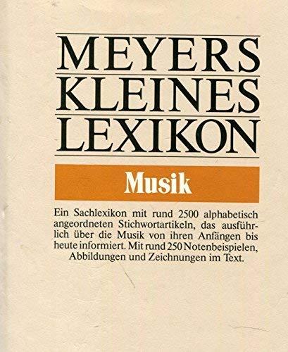 Meyers kleines Lexikon (Meyers kleine Lexika) (German: n/a