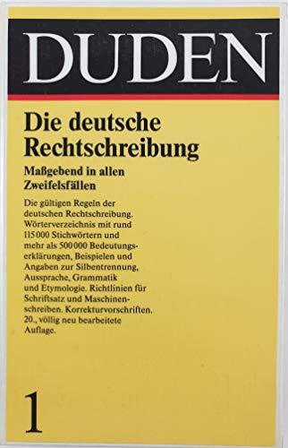 9783411040100: Rechtschreibung
