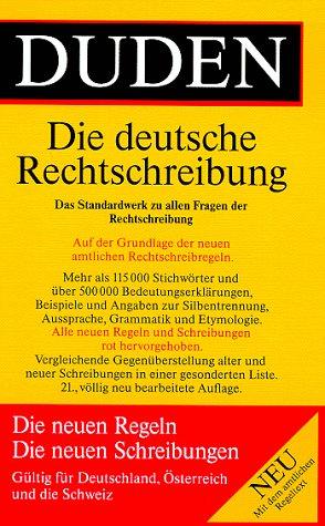 9783411040117: Der Duden in 12 Banden: 1 - Die Rechtschreibung