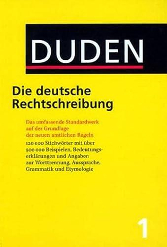 9783411040124: Duden: Die Deutsche Rechtschreibung