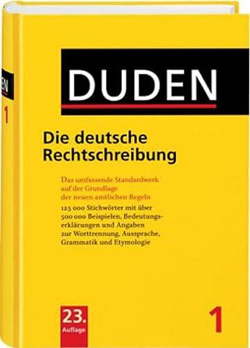 9783411040131: Duden: Die Deutsche Rechtschre