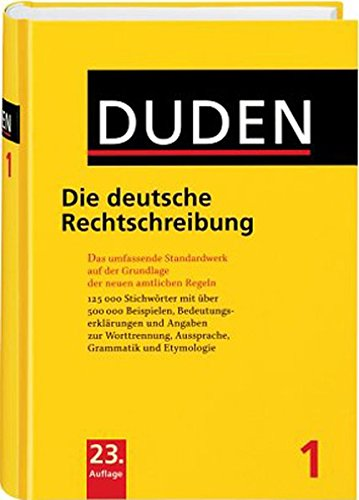 9783411040131: Duden/Rechtschreibung