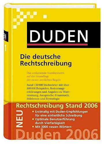 9783411040148: Die Deutsche Rechtschreibung
