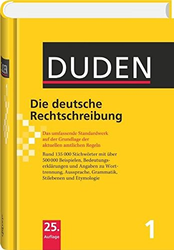 9783411040155: Duden 01. Die deutsche Rechtschreibung: Das umfassende Standardwerk auf der Grundlage der neuen amtlichen Regeln