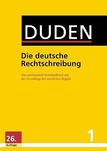 9783411040162: Duden 01. Die deutsche Rechtschreibung : Das umfassende Standardwerk auf der Grundlage der aktuellen amtlichen Regeln (Buch, App & Software)