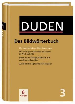 9783411040346: Der Duden in 12 Banden: 3 - Das Bildworterbuch (Duden Series : Volume 3)