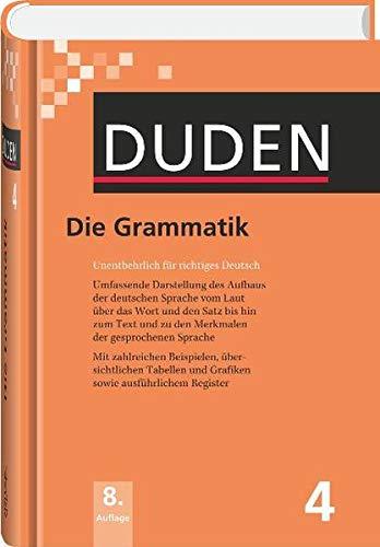 9783411040483: Der Duden in 12 Banden: 4 - Die Grammatik