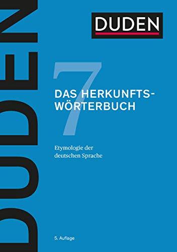 9783411040759: Duden 07. Das Herkunftsw�rterbuch : Etymologie der deutschen Sprache