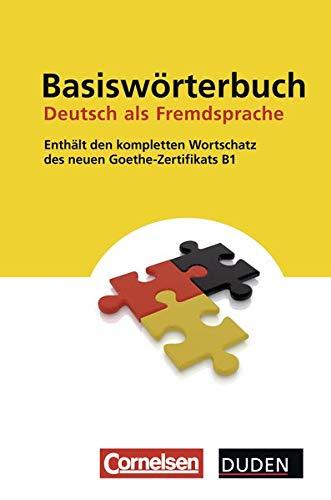 9783411041541: Duden - Basiswörterbuch Deutsch als Fremdsprache