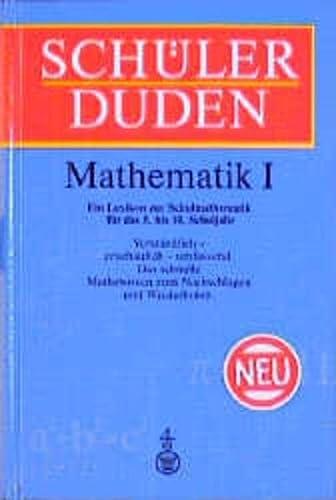9783411042067: Schülerduden, Die Mathematik. Bd.1. (Ein Lexikon zur Schulmathematik der Sekundarstufe I. 5.-10. Schulj.)