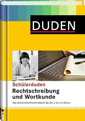 9783411042203: Duden Schülerduden Rechtschreibung und Wortkunde (gebunden): Das Rechtschreibwörterbuch für die Sekundarstufe I