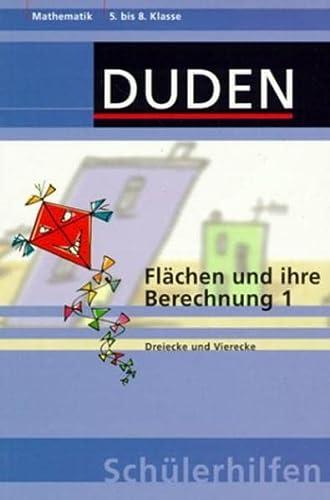 9783411044139: Flächen und ihre Berechnung 1.