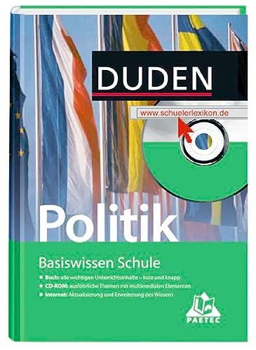 9783411045907: Politik: 7. Klasse bis Abitur