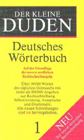 9783411046645: Der Kleine Duden: Fremdworterbuch