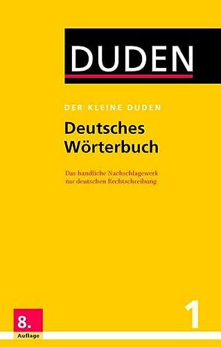 9783411046683: Der Kleine Duden: Der Kleine Duden - Deutsches Worterbuch