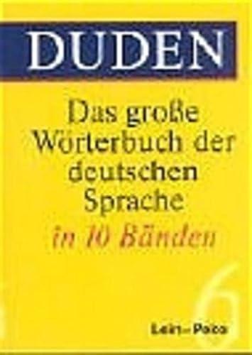 9783411047338: Duden. Das große Wörterbuch der deutschen Sprache (3. A.) Mehr als 200 000 Stichwörter. 10 Bde.