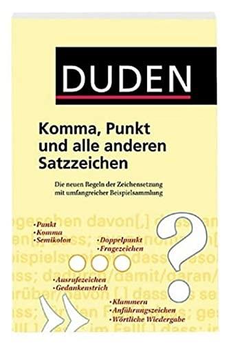 9783411049141: Komma, Punkt und alle anderen Satzzeichen.