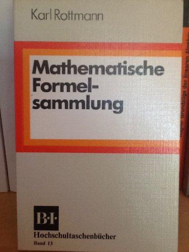 9783411050130: Mathematische Formelsammlung