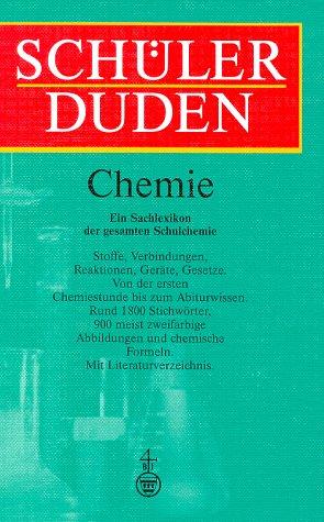 9783411053834: Schülerduden. Die Chemie