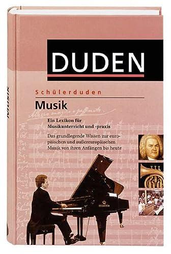 9783411053933: (Duden) Schülerduden, Musik. Ein Lexikon für Musikunterricht und -praxis