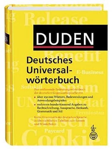 9783411055050: Duden Deutsches Universal-Worterbuch (German Edition)