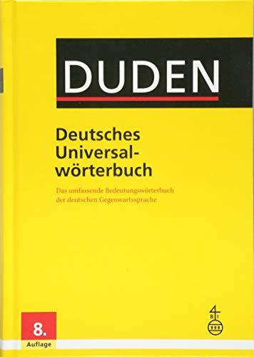 9783411055081: Duden - Deutsches Universalwörterbuch: Das umfassende Bedeutungswörterbuch der deutschen Gegenwartssprache (German Edition)
