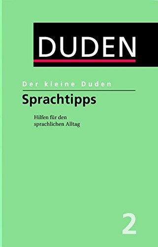 9783411055838: Der Kleine Duden: Sprachtipps (German Edition)