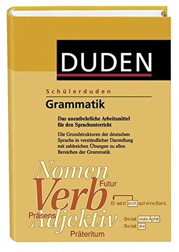 9783411056347: (Duden) Schülerduden, Grammatik, neue Rechtschreibung