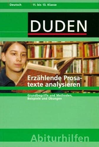 9783411056422: Erzählende Prosatexte analysieren.