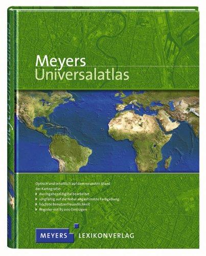 9783411072880: Meyers Universalatlas