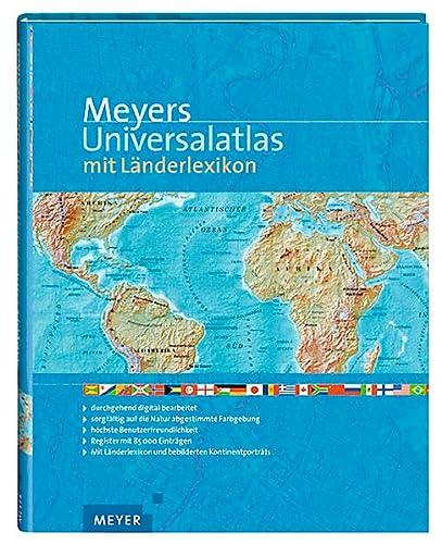 9783411073313: Meyers Universalatlas mit Länderlexikon.