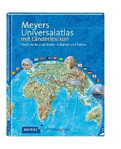 9783411073320: Meyers Universalatlas mit Länderlexikon